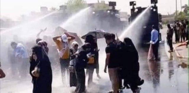 Manifestation à Bagdad