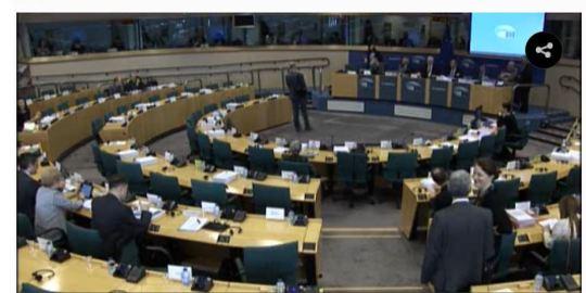 EU Parliament legal affairs committee UPC