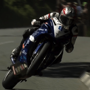 Isle of Man TT rider