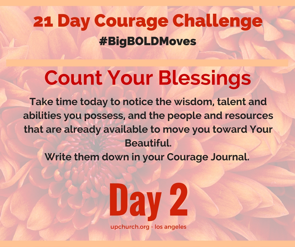 21 Day Courage Challenge | Day 2 Motivation