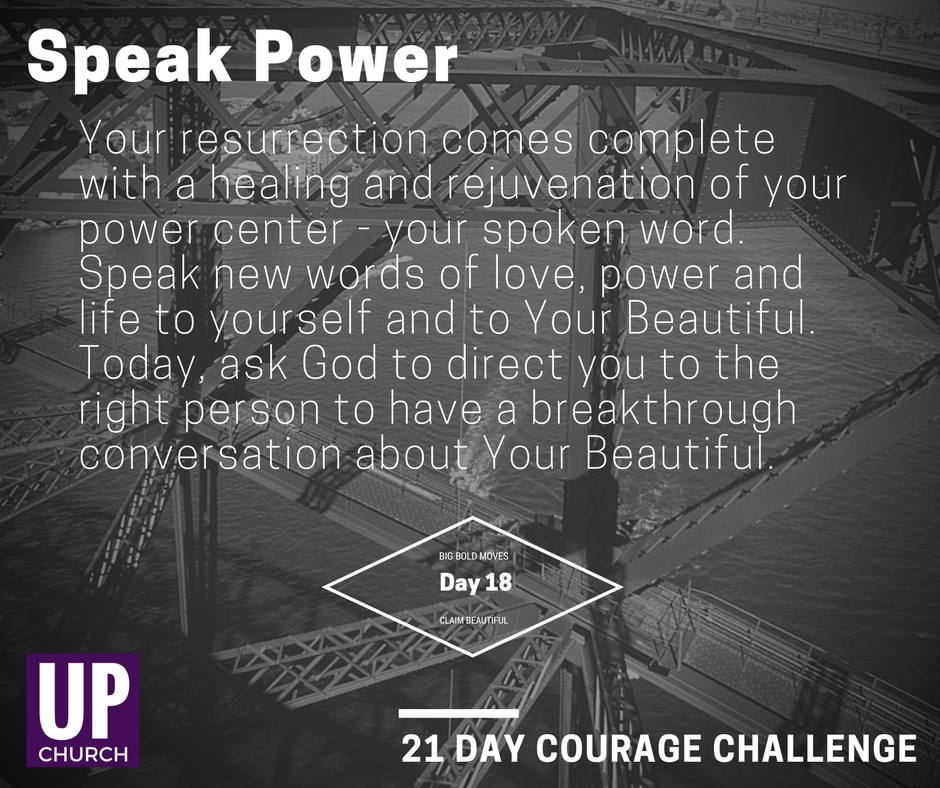 21 Day Courage Challenge – Day 18 Motivation