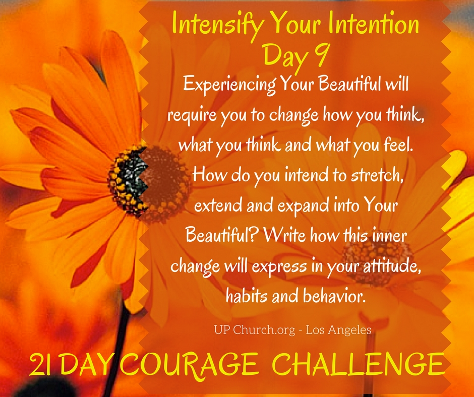 21 Day Courage Challenge – Day 9 Motivation