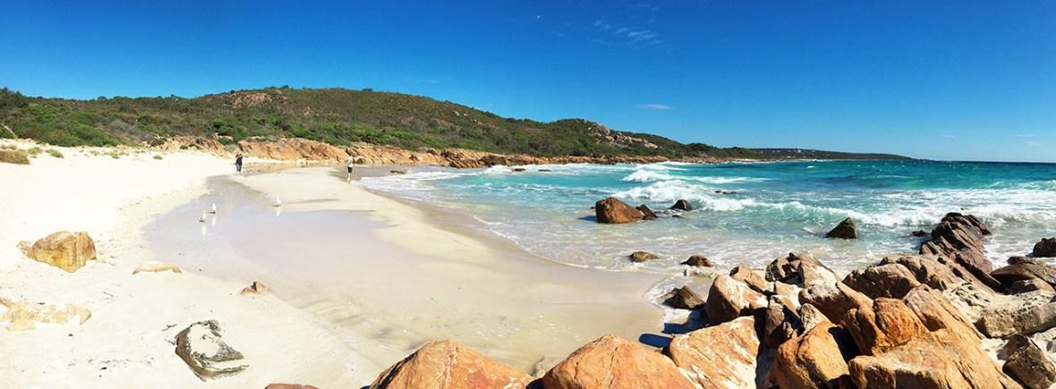 Beautiful beach in Western Australia