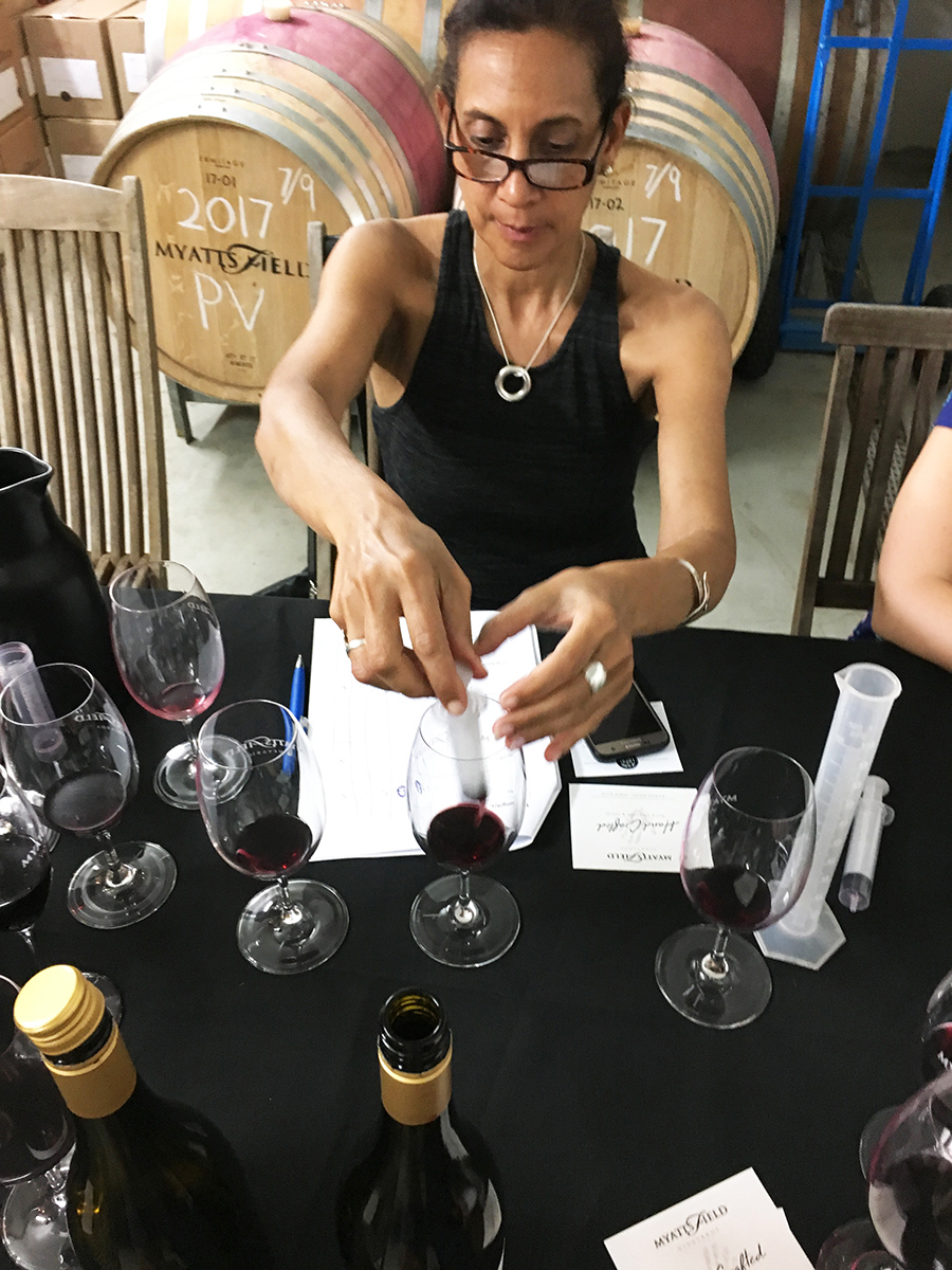 Up Close and Local Tours wine blending wine tour