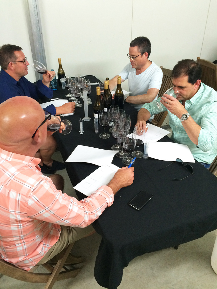 Make your own wine in a wine masterclass