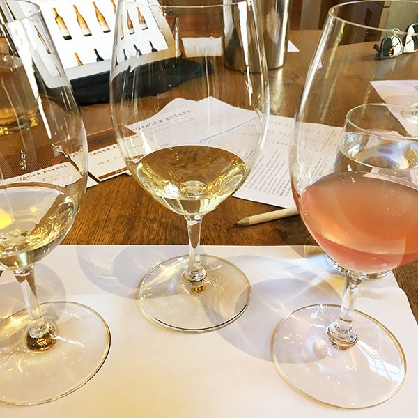 Voyager Estate wine flight tasting experience in Margaret River