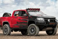2021 Chevrolet Colorado Z71 modification