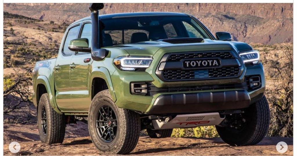 2021 Toyota Tacoma Hybrid Engine