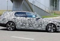 2022 MercedesBenz EClass Spy Photos