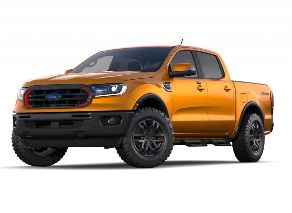 2022 Ford Ranger Spy Shots