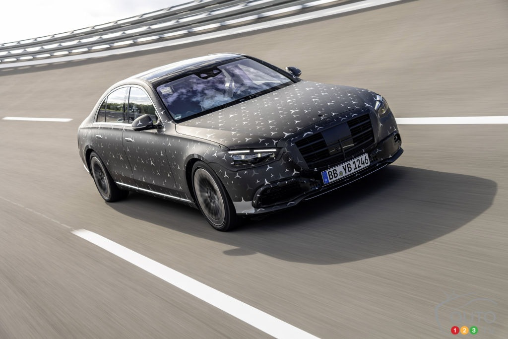 2022 Mercedes S Class Images