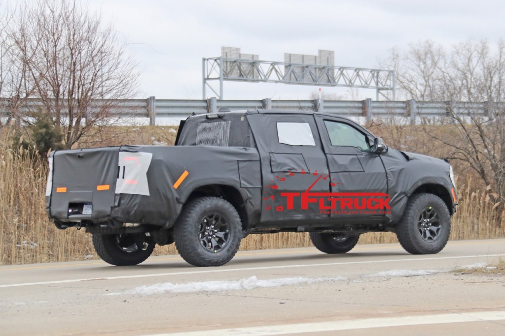 2022 RAM 1500 TRX Rebel Spy Photos