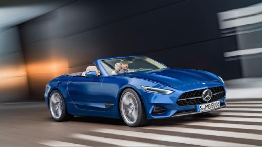 2023 Mercedes SL Wallpaper