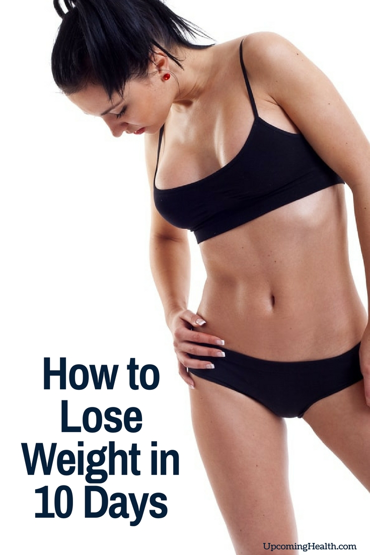 How to Lose Weight in 10 Days (10 Steps With Pictures)