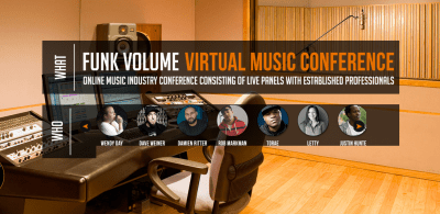 Funk Volume Announces 2016 Virtual Music Conference