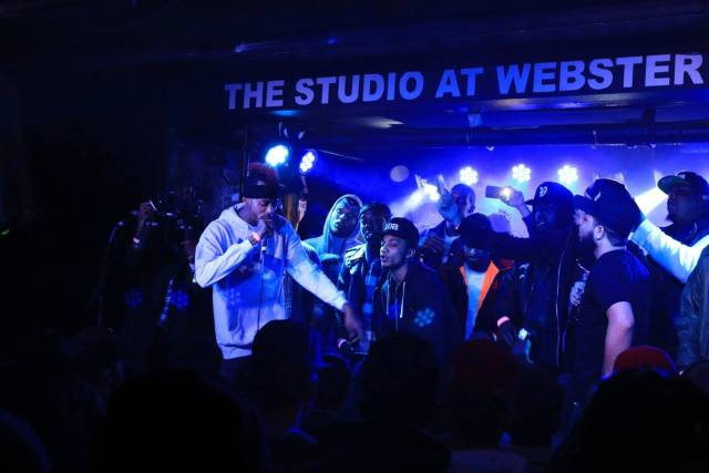 Tray Pizzy at Webster Hall NYC