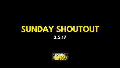 Sunday Shoutout - March 5, 2017