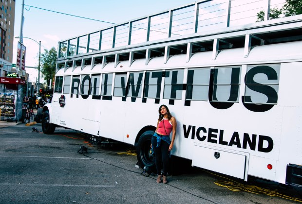 Viceland is a TV Channel. But It's Also a Really Fun Bus.