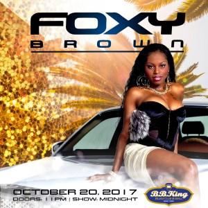 Foxy Brown @ B.B. King Blues Club & Grill