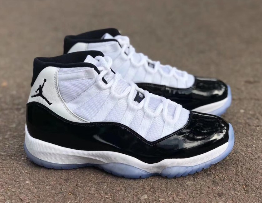 Air Jordan 11 Concord with translucent outsole
