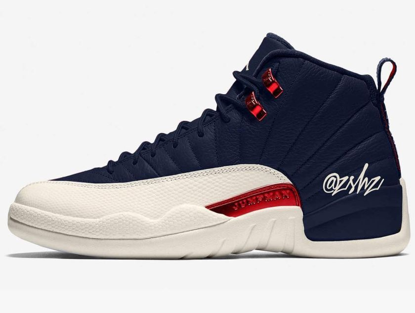 Air Jordan 12 College Navy with great style