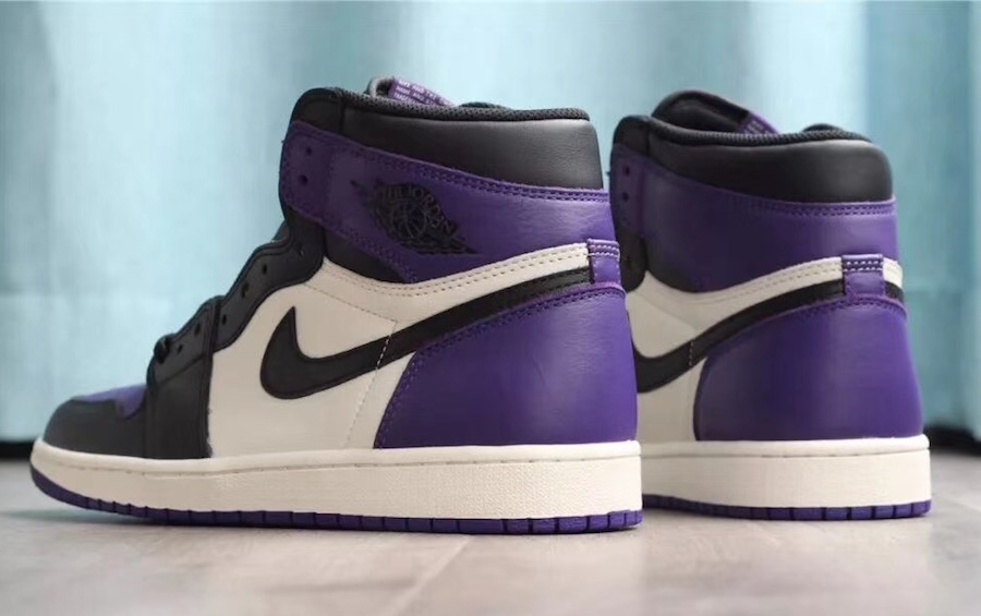 2bbef6f22fb The Royal Air Jordan 1 Retro High OG Purple Features Eclectic Colorways