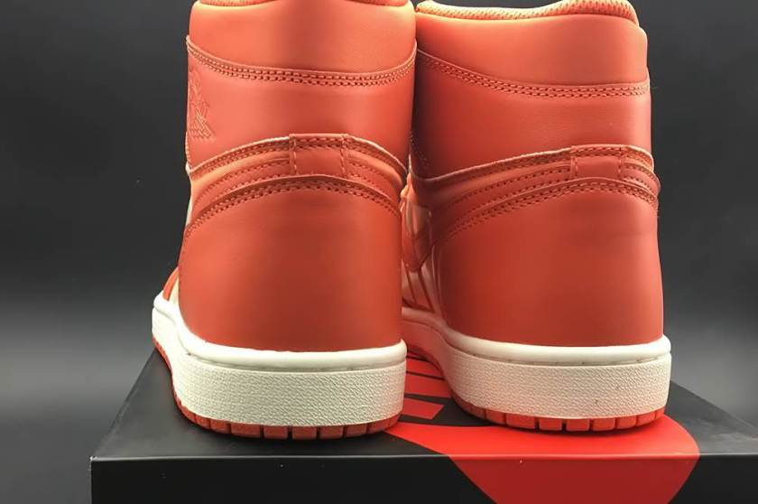 Air Jordan 1 Swoosh with canvas material