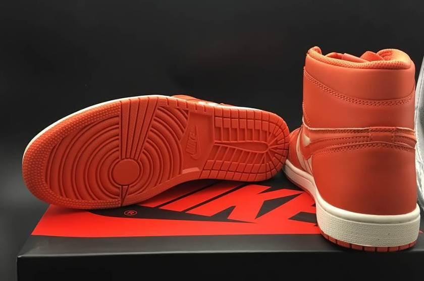 Air Jordan 1 Swoosh with interesting use of colors