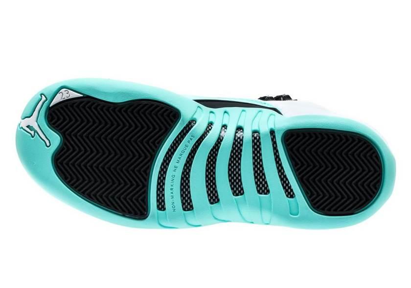 Air Jordan 12 GS Light Aqua with beautiful color way