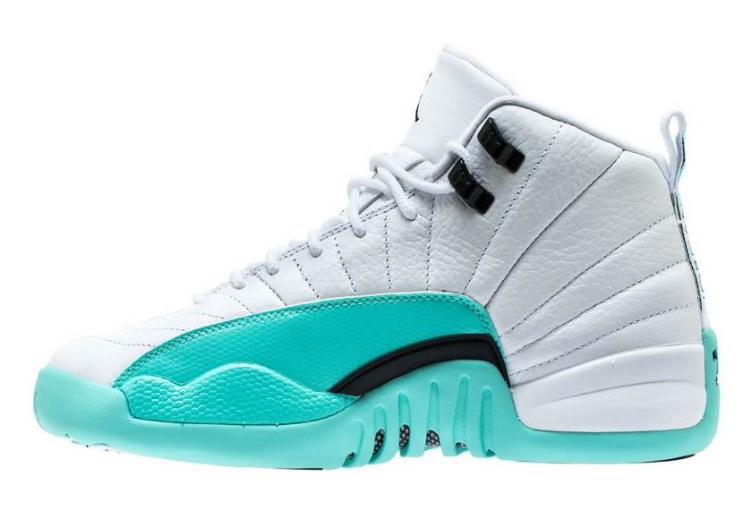 Air Jordan 12 GS Light Aqua with impressive design