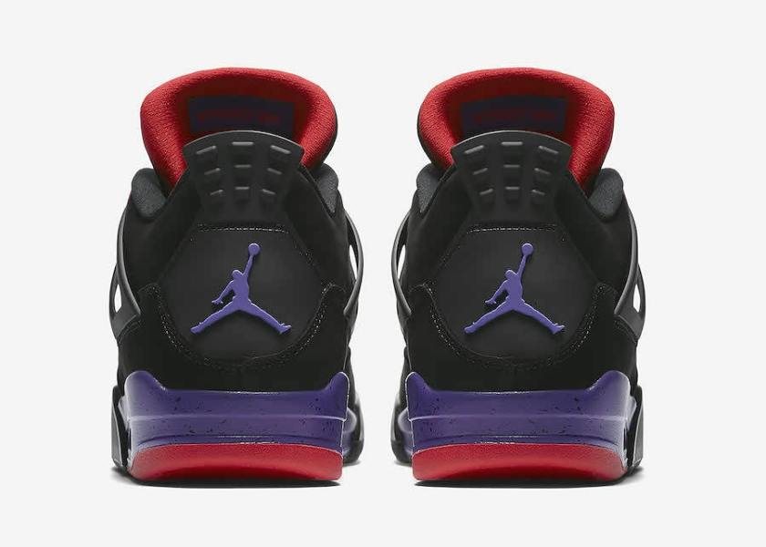 Air Jordan 4 NRG Raptors with a fine Jumpman branding