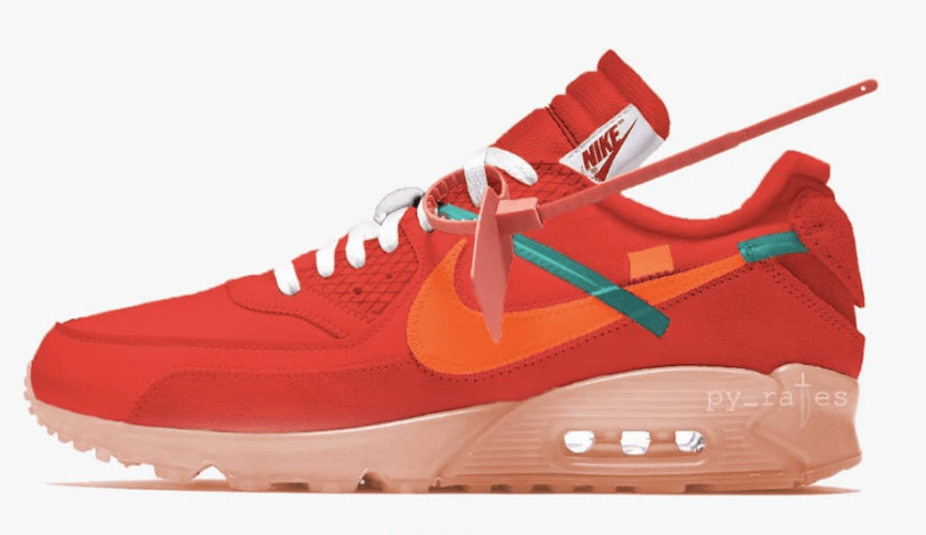 Off-White Nike Air Max 90 with Great colorway
