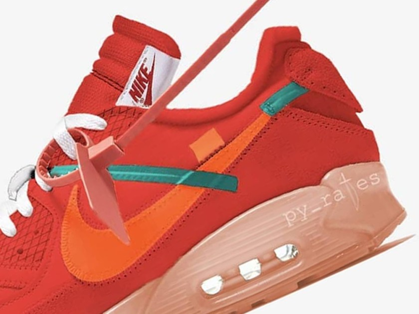 Off-White Nike Air Max 90 with premium quality materials
