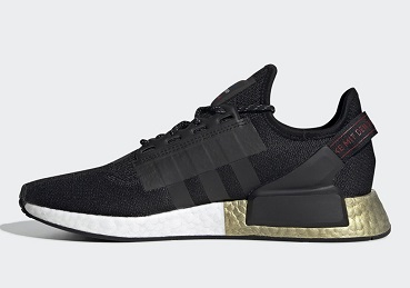 Adidas NMD R1 V2 Core Black Metallic Gold