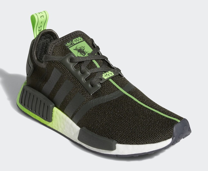 Adidas NMD R1 Yoda with Black