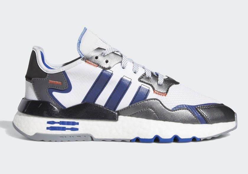 Adidas Nite Jogger with basketball shoes