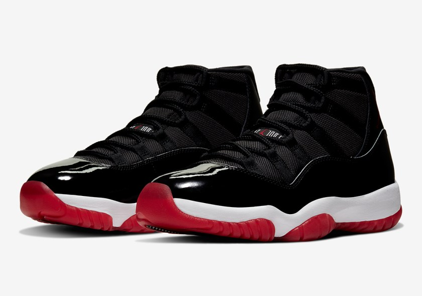 Air Jordan 11 Retro with Black and Red color