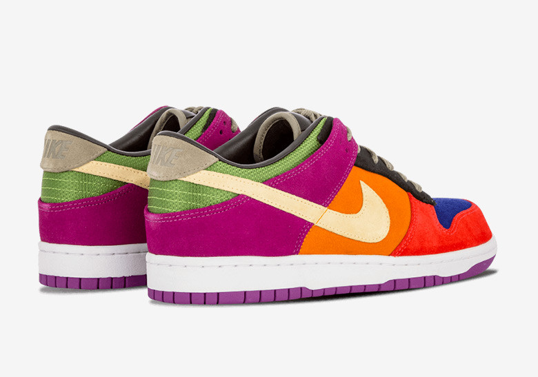Nike Dunk Low Viotech with toe box