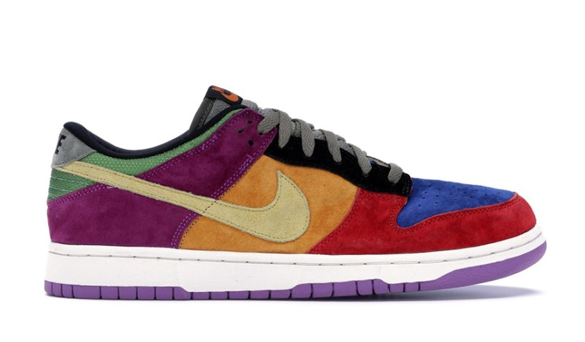 Nike Dunk Low with iconic shoes