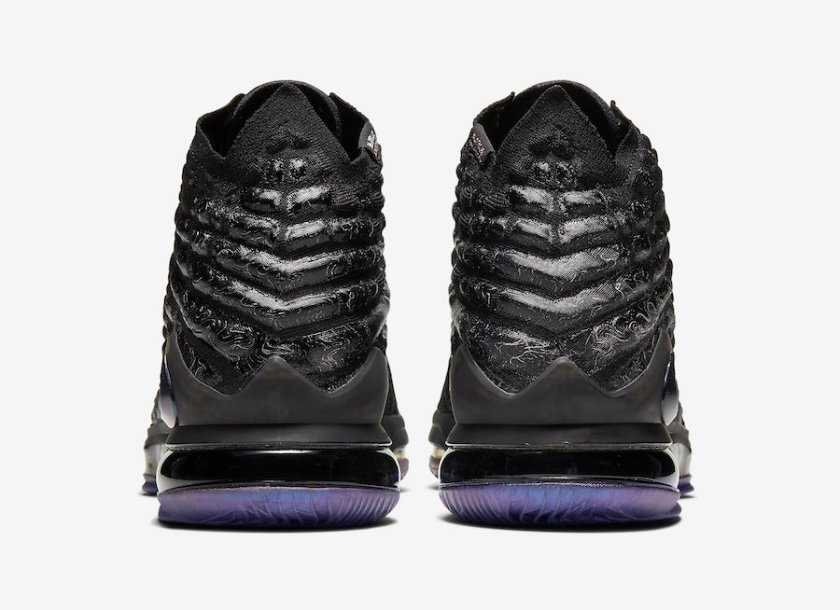 Nike LeBron with Iridescent details on the Swoosh