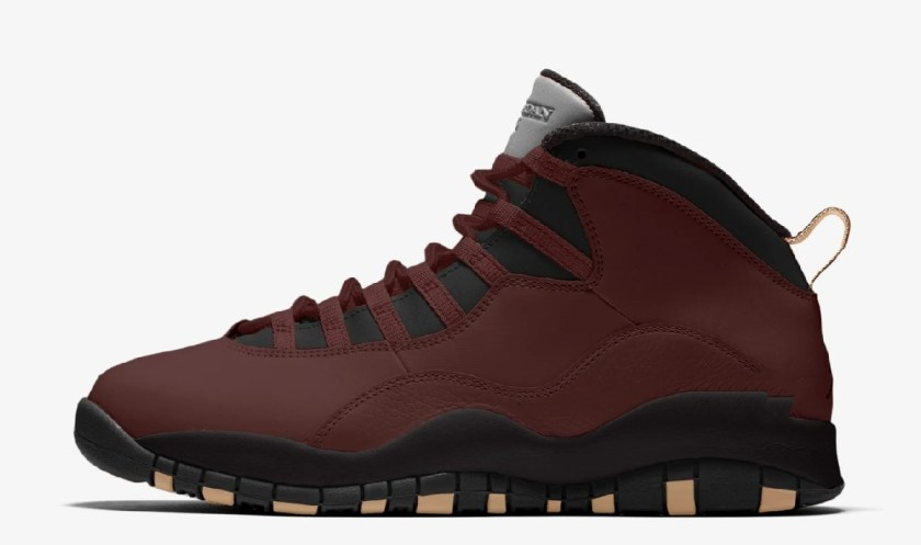 SoleFly x Air Jordan 10 with various color schemes