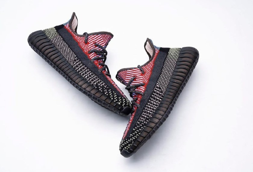 """Yeezy 350 Boost V2 """"Yecheil"""" with Incredible use of colors"""