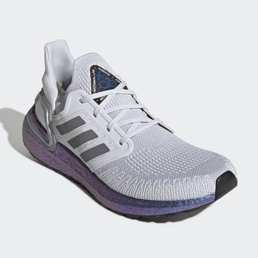 Ultra Boost 2020 with Blue Violet Metallic