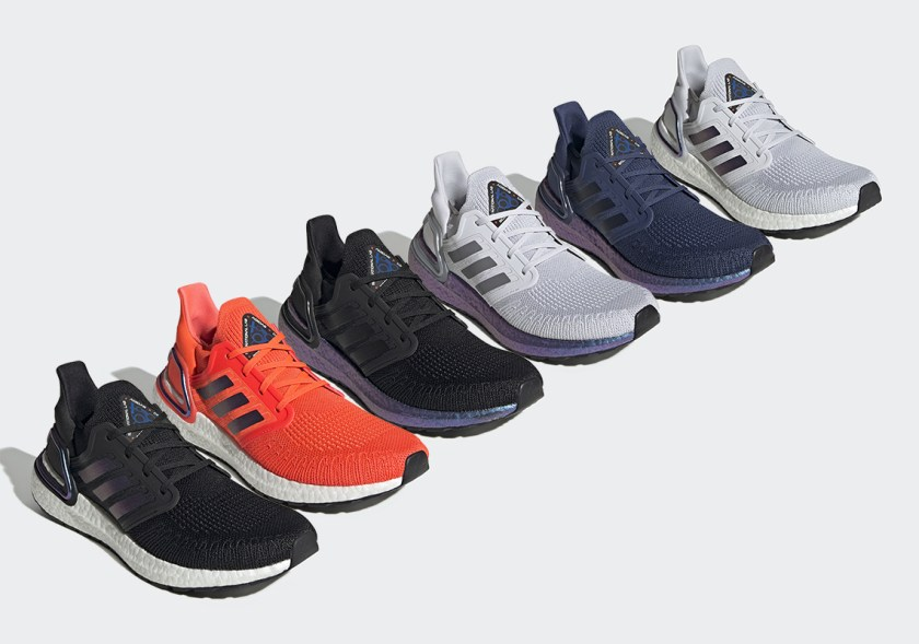 Ultra Boost 2020 with comfortable on the feet