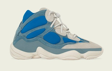 "adidas Yeezy 500 High ""Frosted Blue"""