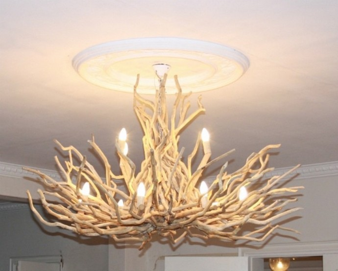 30 Amazing Driftwood Chandelier Ideas