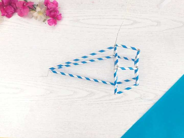 geometric plant hangers DIY