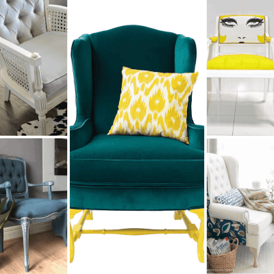 Armchair Makeover Inspiration – Our Top Upcycled Armchair Ideas