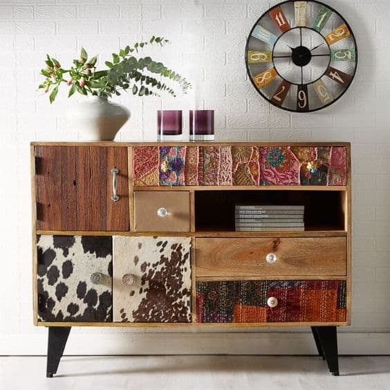 mix and match sideboard Upcycle Ideas