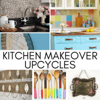 DIY Kitchen Makeover Upcycle Ideas - 21 Ideas to Try